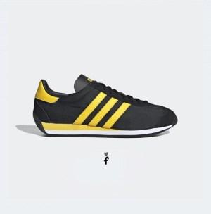 Adidas Country OG - Negras Amarillas