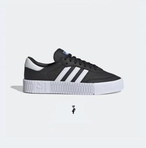 Adidas Sambarose Black