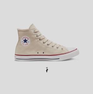 Converse All Star Clásicas altas | Crema