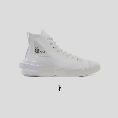 Converse x TheSoloist. Disrupt CX High Top unisex 'Blancas'
