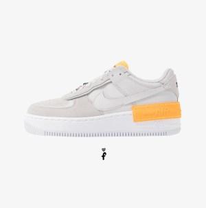Nike Air Force 1 Shadow Grey-Laser Orange
