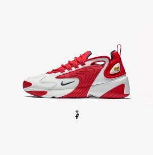 Nike Zoom 2K Rojas Blancas