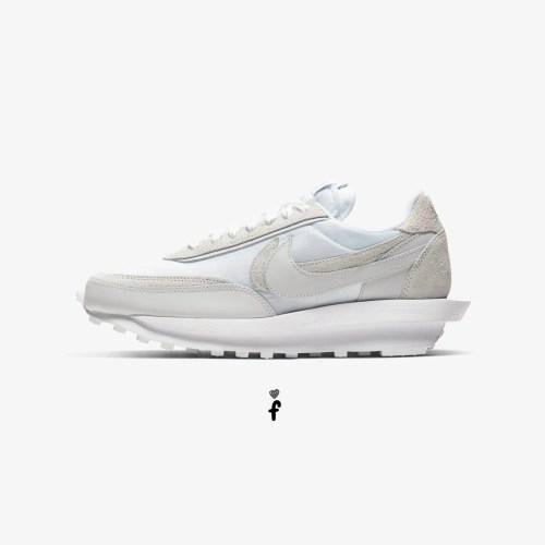 Sacai x Nike LD Waffle Blue Blancas