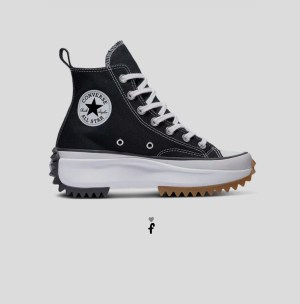 Converse Run Star Hike High negras