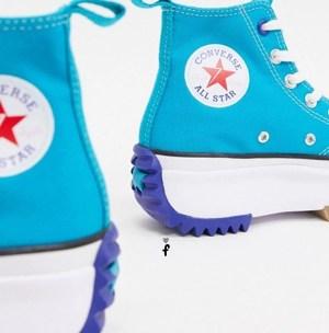 Run Star azules celeste