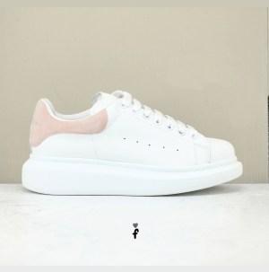 Alexander McQueen Blancas Rosas