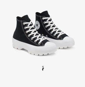 Converse Chuck Taylor All Star Lugged Negras