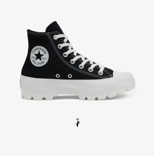 Converse Lugged Negras