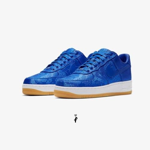 Nike Air Force 1 Clot low Blue Silk