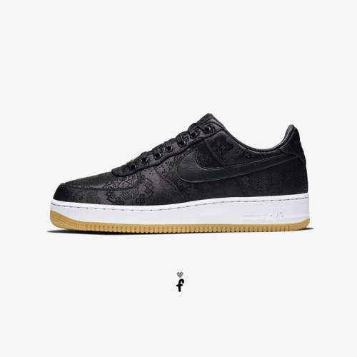 Nike Air Force 1 Clot low Negras