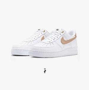 Nike Air Force 1 Low White Vachetta Tan