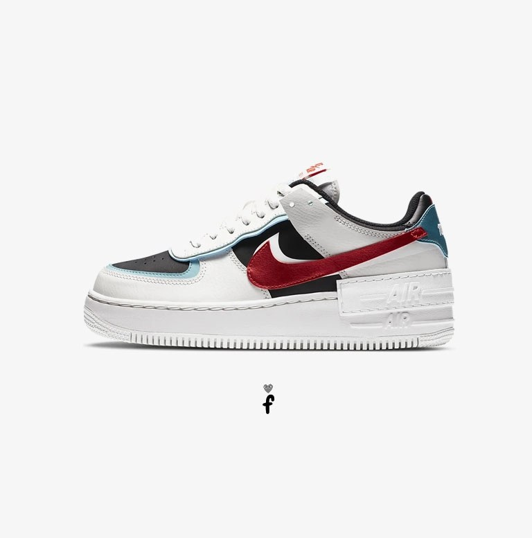 air force 1 shadow negras