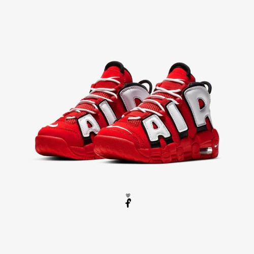 Air More Uptempo University Red