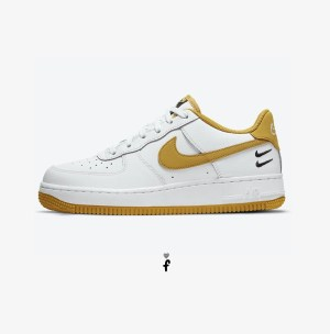 Nike air Force 1 Low Dons Dual Embroidered Checks