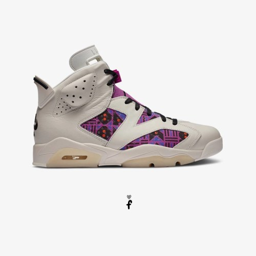 Nike Air Jordan 6 Retro QUAI 54 Purple