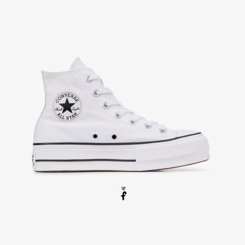 Converse All Star Plataforma High-Top Blancas 560846C