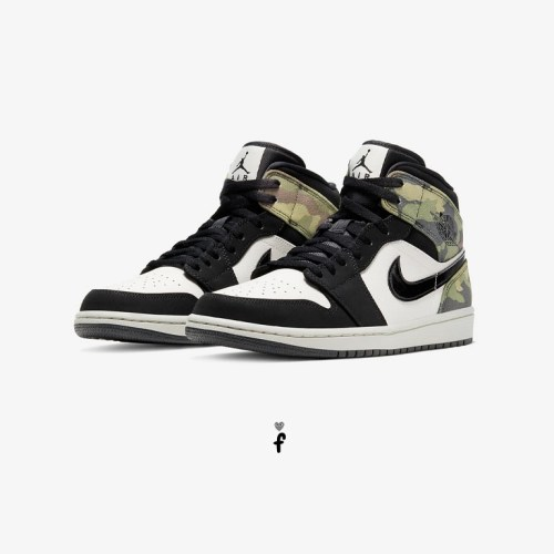 Nike Air Jordan 1 Mid Camo camuflaje