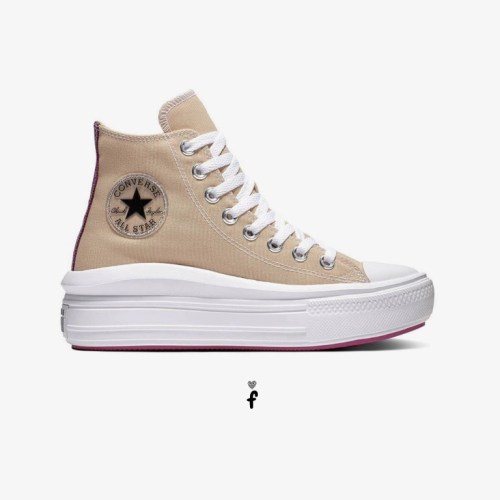 Converse All Star Move Plataforma Marrones 568794C