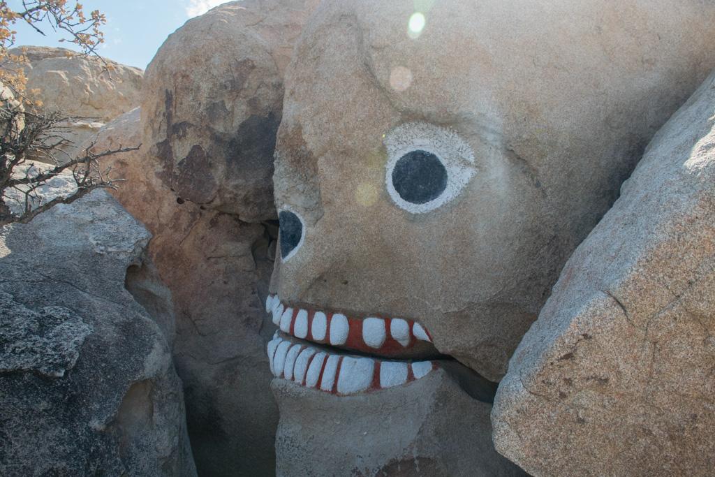 Rock face in Boulder Park