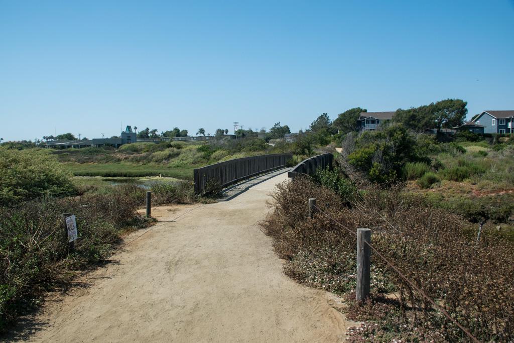 Trail at Tijuana Estuary visitor center