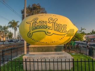 Worlds Biggest Lemon in Lemon Grove