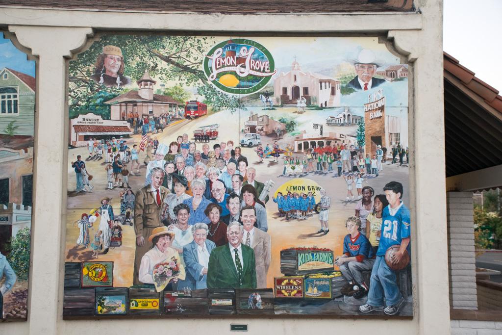 The Lemon Grove History Mural Section 5