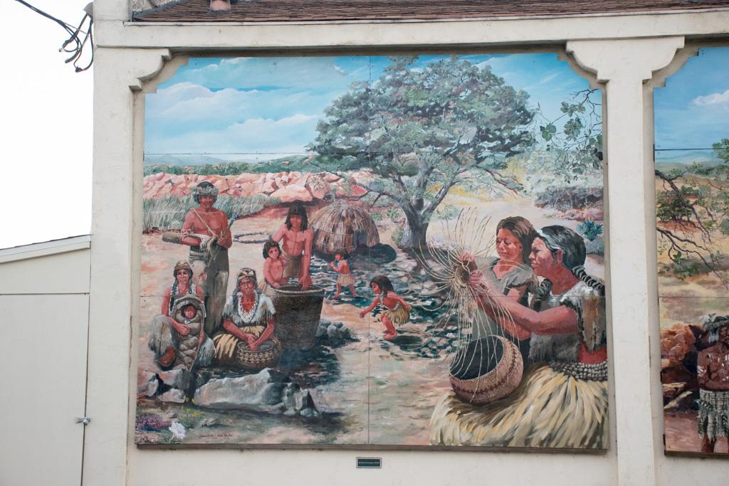 The Lemon Grove History Mural Section 1