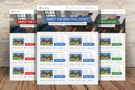 10 Professional Real Estate Agent Brochure Templates Free Download   10 Professional Real Estate Agent Brochure Templates Free Download
