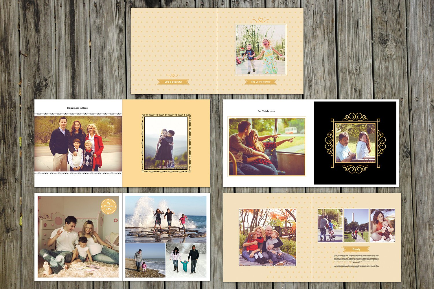 10 Fabulous Baby Record Book Templates For Parents And Designers