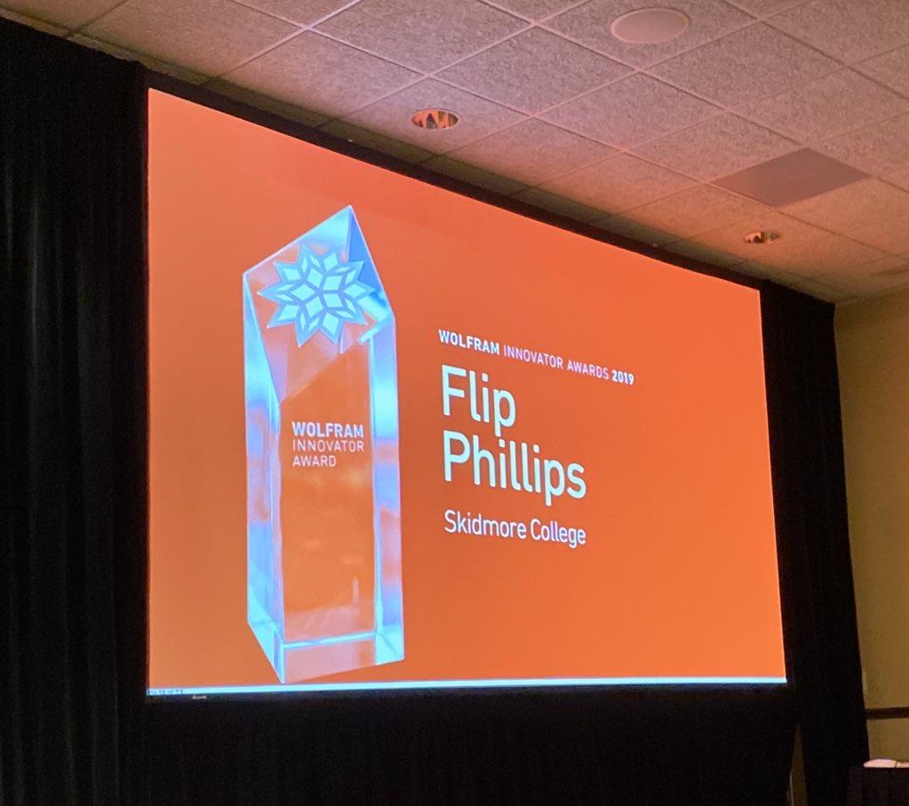 award title slide