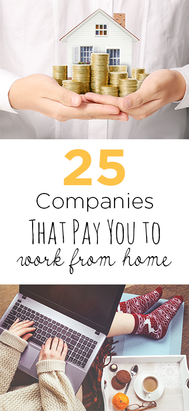 25 Companies That Pay You to Work From Home