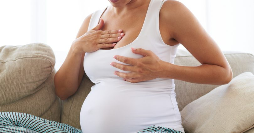 Breast-Pain-During-Pregnancy