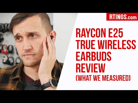 Raycon E25 True Wireless Earbuds Review What We Measured Rtings Com Flipreview Com