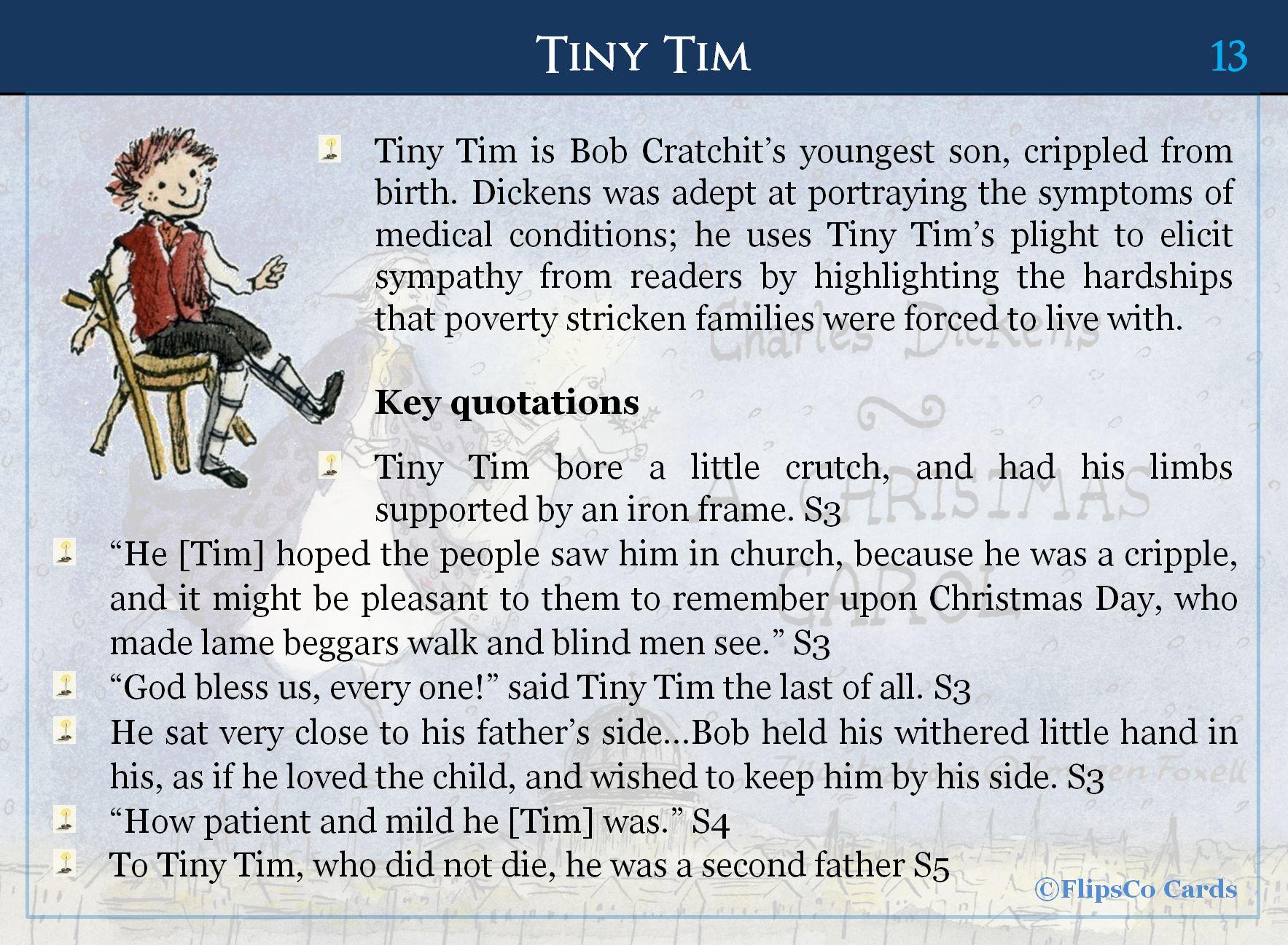 A Christmas Carol FlipsCo Cards