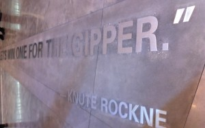 Let's Win One For the Gipper - Knute Rockne