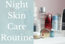 Night Skin Care Routine