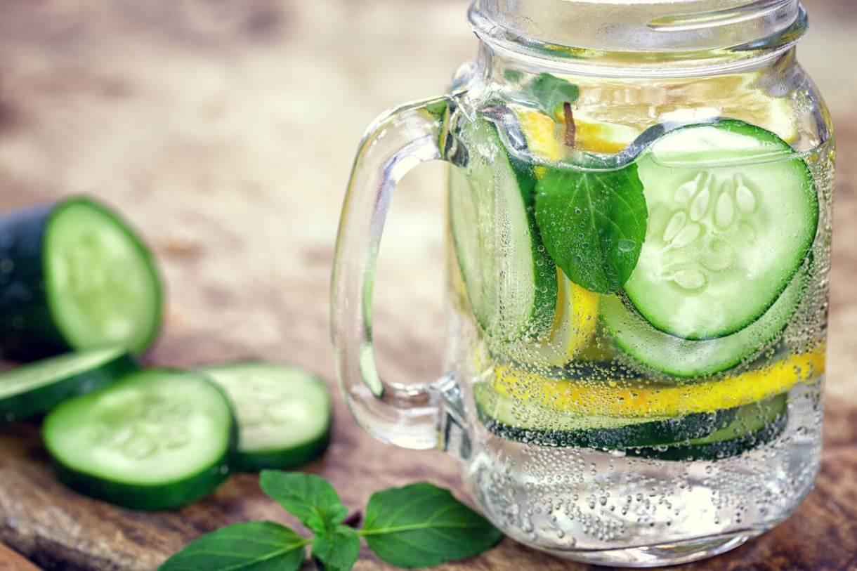 Cucumber Detox Water