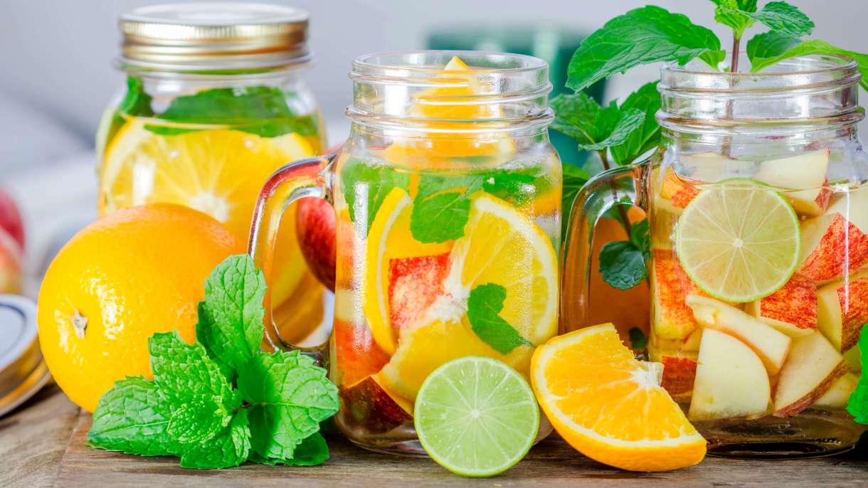 Orange Detox Water Recipes