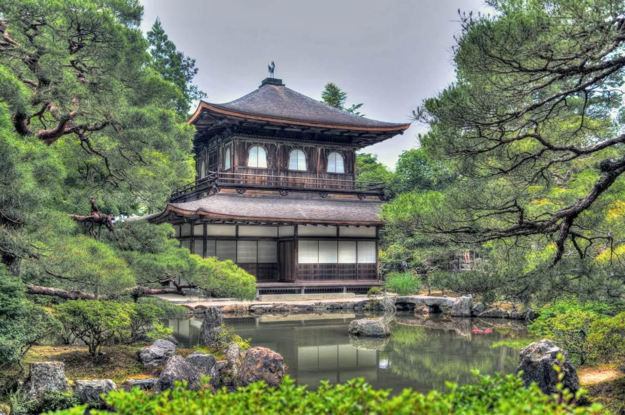 ginkaku-ji-temple-gardens-kyoto-Japan