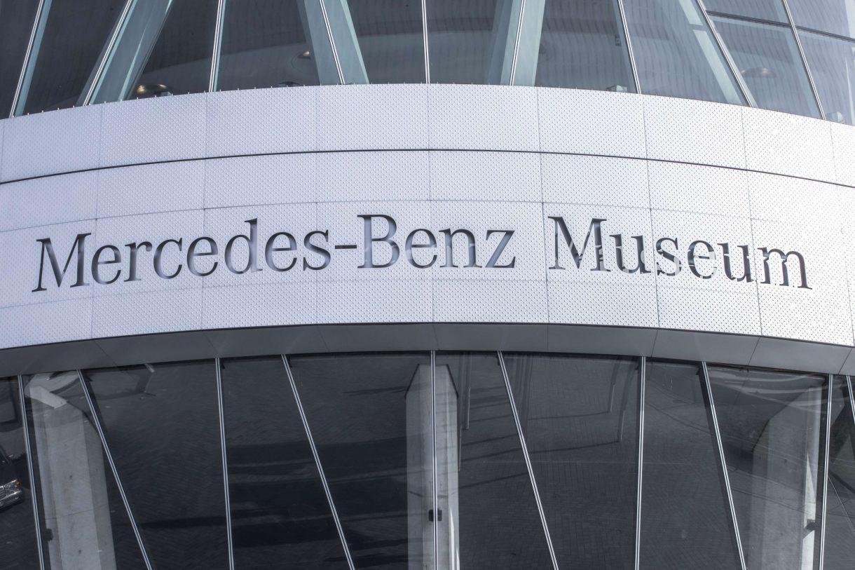 A Mercedes-Benz Museum