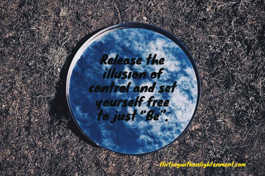 control, illusion, mindfulness,
