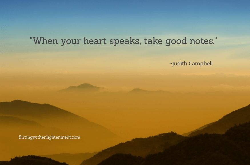 solar plexus chakra and heart chakra, mindfulness, flirting with enlightenment, sunset, mountains