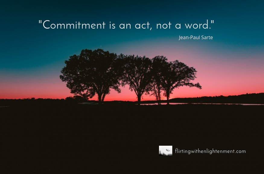 healthy commitment energy, commitment, podcast, flirting with enlightenment, relationships, work, self-awareness