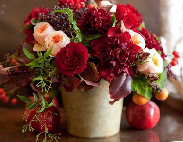 Wedding Wednesday Red Inspiration Flirty Fleurs The