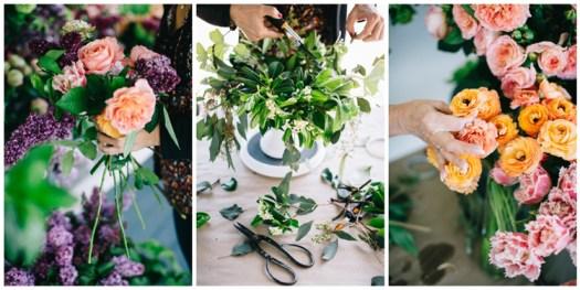 flirty fleurs flower design class florist instruction seattle