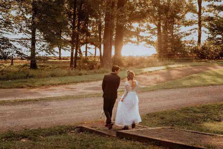 An Intimate, Zero-Waste Vegan Forest Wedding
