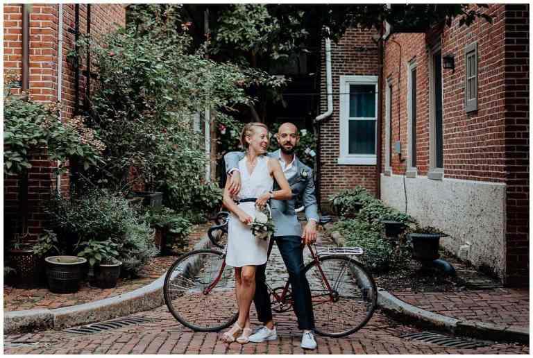 Self-Uniting Elopement in Philadelphia's Gayborhood
