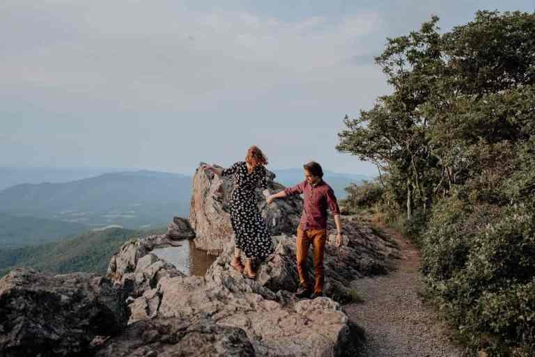 Stony Man Mountain Engagement Photos