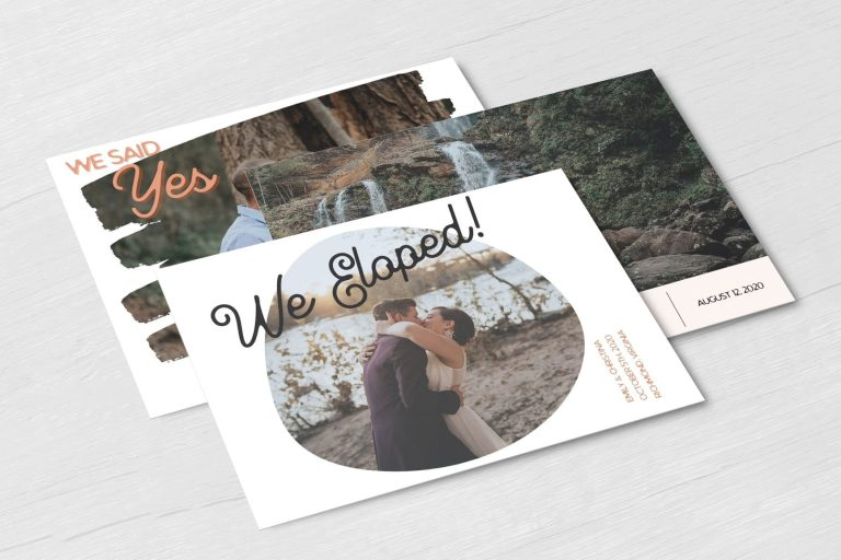 Elopement Announcements Made Simple