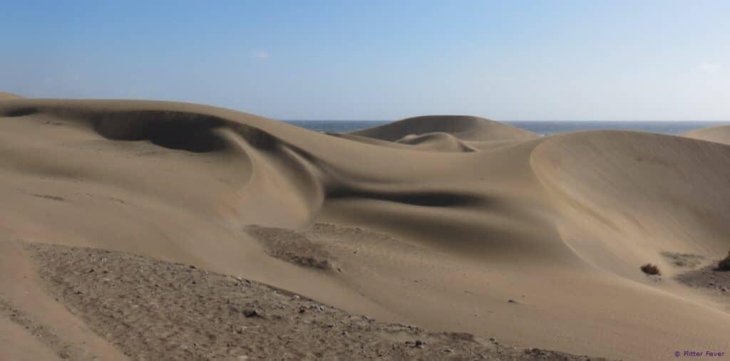Dunas de Maspalomas Gran Canaria sand